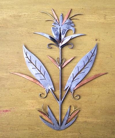 Wall Metal Art ,botanical Shapes And Forms For Home Decor (View 2 of 20)