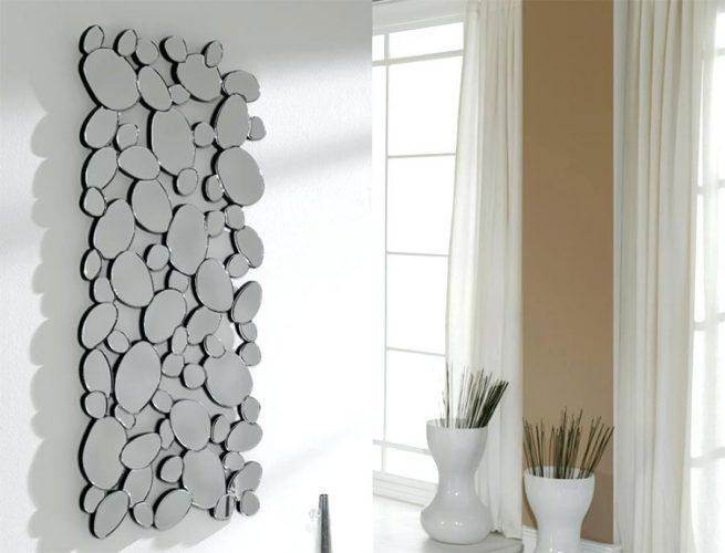 Wall Mirror ~ Large Designer Wall Mirrors Home Design Ideas Modern For Uk Contemporary Wall Art (View 16 of 20)