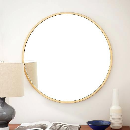 Wall Mirror ~ Large Round Wall Mirrors Uk Round Bathroom Wall Throughout Small Round Mirrors Wall Art (Image 19 of 20)
