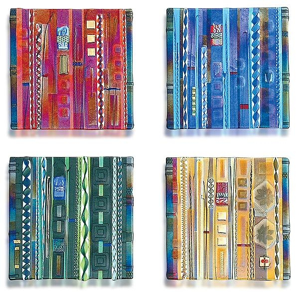 Wall Panel Color Series Setmark Ditzler (Art Glass Wall Regarding Fused Glass Wall Art Panels (Image 20 of 20)