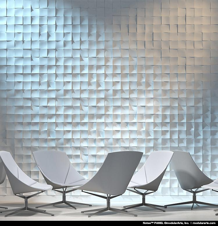 Wall Panels, Tiles And Screen Blocks | Modulararts® Interlockingrock® For Modular Wall Art (Image 17 of 20)
