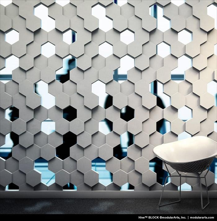 Wall Panels, Tiles And Screen Blocks | Modulararts® Interlockingrock® Inside Modular Wall Art (Image 18 of 20)