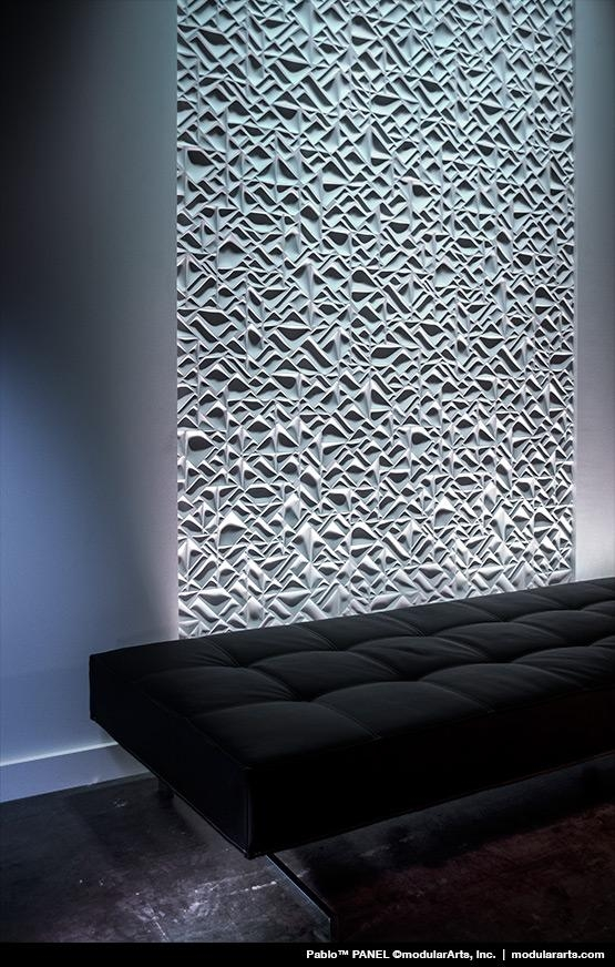 Wall Panels, Tiles And Screen Blocks | Modulararts® Interlockingrock® With Regard To Modular Wall Art (Image 20 of 20)
