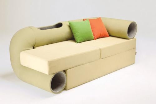 We Might Need This Cat Tunnel Sofa In Our Lives – Catster In Cat Tunnel Couches (Image 19 of 20)