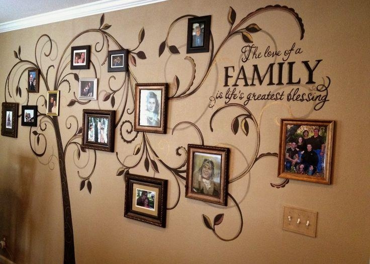 Website Inspiration Family Tree Wall Art – Home Decor Ideas Regarding Family Photo Wall Art (View 13 of 20)