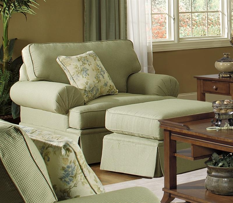 Westport Stationary Sofa In Olive Gingham Check Fabricjackson With Regard To Gingham Sofas (View 3 of 20)
