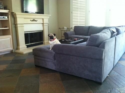 What Colors Will Help My Grey Sofa Look More Grey, Not Blue? Pertaining To Blue Denim Sofas (Image 20 of 20)