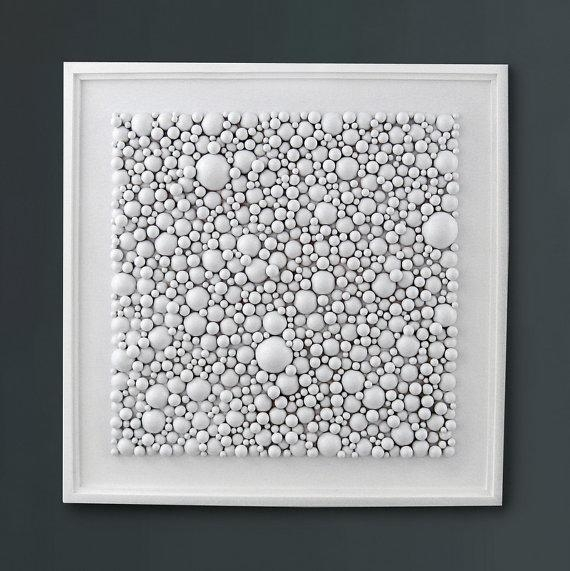 White Wall Art Wood Wall Art Wood Sculpture Home Decor Pertaining To White Wooden Wall Art (View 3 of 20)