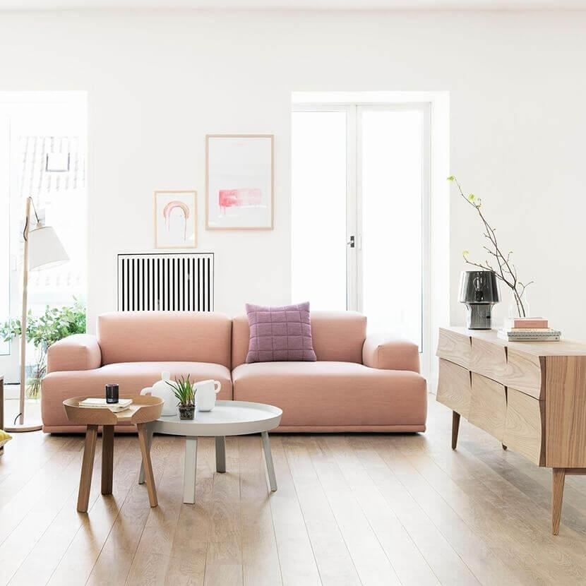 Why The Chunky Low Sofa Has Our Attention – Emily Henderson Throughout Low Height Sofas (Image 20 of 20)