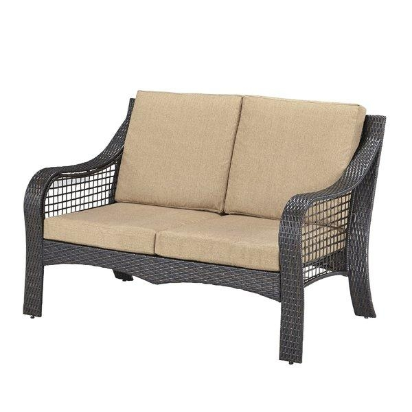 Wicker Patio Sofas & Loveseats You'll Love | Wayfair In Shaker Sofas (Image 19 of 20)
