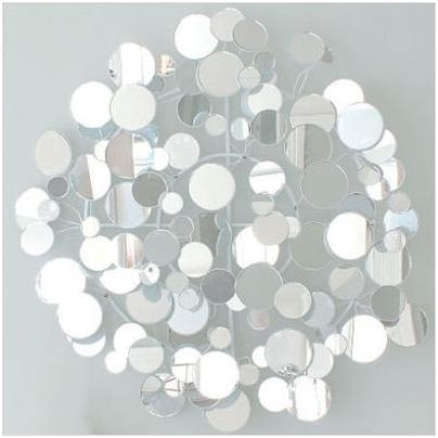 Wingard Small Mirrored Op Wall Art Inside Glamorous Wall Art (Image 20 of 20)
