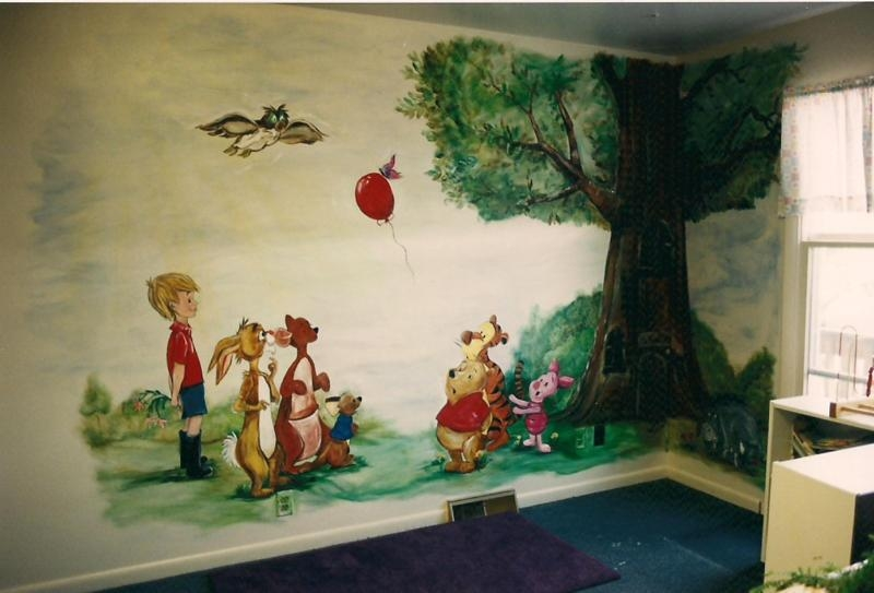Winnie The Pooh & Friends With Winnie The Pooh Wall Art (View 20 of 20)
