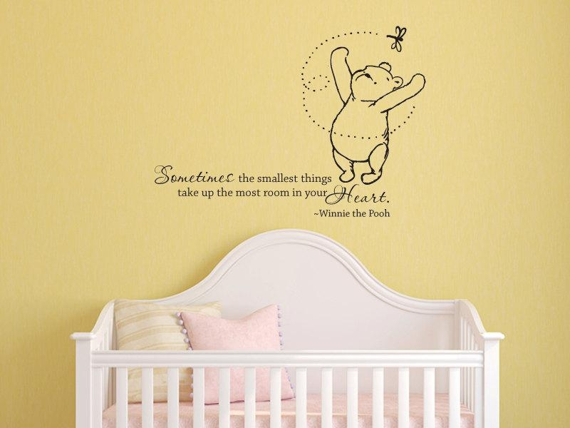 Winnie The Pooh Wall Art Decals : Adorable Winnie The Pooh Wall In Winnie The Pooh Wall Art (Image 18 of 20)