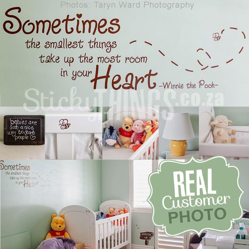 Winnie The Pooh Wall Sticker Quote – Stickythings.co (Image 20 of 20)