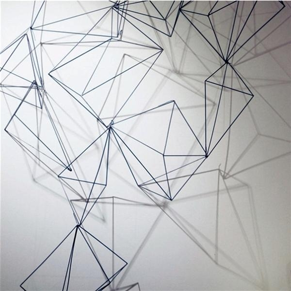 Wall Art: Wire Wall Art Decors (#6 of 20 Photos)