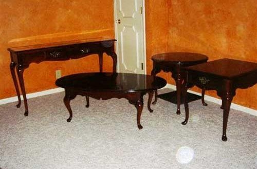 Wonderful Living Rooms : Nebraska Real Estate Auction In Nebraska With Cherry Wood Sofa Tables (View 10 of 20)