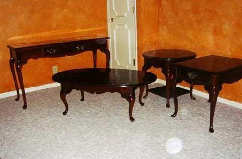 Wonderful Living Rooms : Nebraska Real Estate Auction In Nebraska With Cherry Wood Sofa Tables (Image 20 of 20)