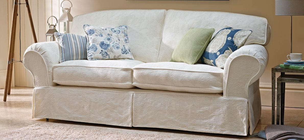 Wonderful Patterned Couch Slipcovers How To Tips Advice And Ideas Regarding Patterned Sofa Slipcovers (Image 20 of 20)