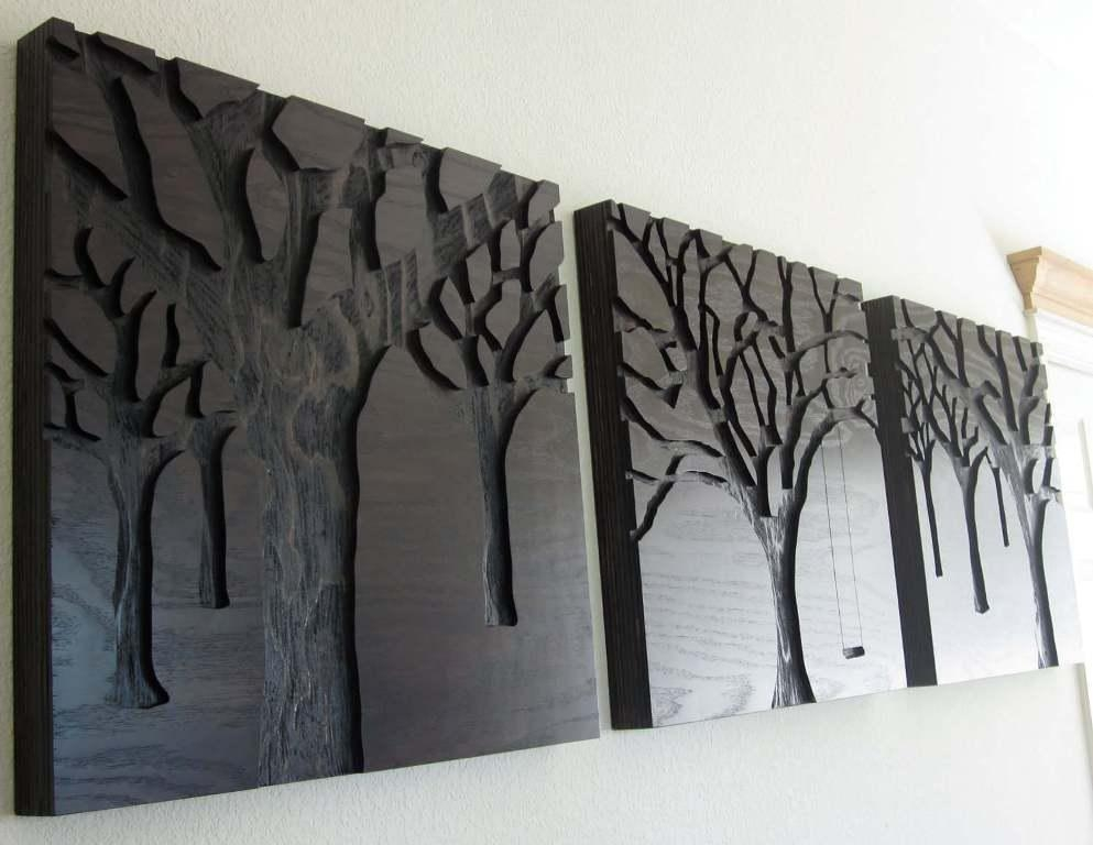 Wood Panel Wall Art Some Decor Reviews – Best House Design Regarding Wood Panel Wall Art (View 6 of 20)