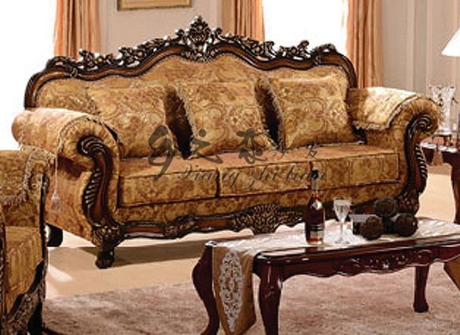 Wood Sofa Set – Wooden Hand Carved Sofa Sets Carved Sofa Sets Inside Carved Wood Sofas (Image 16 of 20)