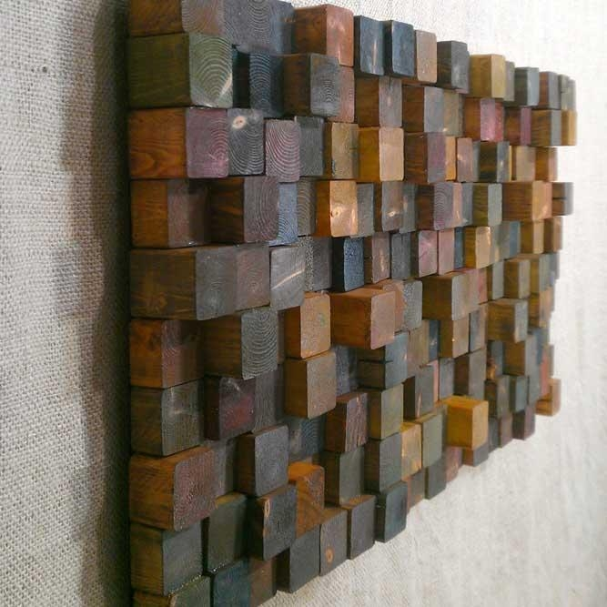 Wood Wall Art: A Chip Off The Old Block With Regard To Recycled Wall Art (View 17 of 20)