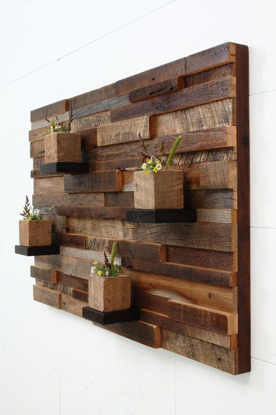 Wood Wall Art Web Art Gallery Reclaimed Wood Wall Decor – Home Within Natural Wood Wall Art (Image 20 of 20)