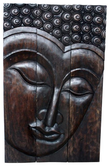 Wooden Buddha Wall Art – Wooden Buddha Wall Art, Buddha Statues With Buddha Wood Wall Art (Image 20 of 20)