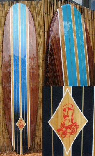 Wooden Decorative Surfboard Wall Art Decor – Easter Island Inside Decorative Surfboard Wall Art (Photo 5 of 20)