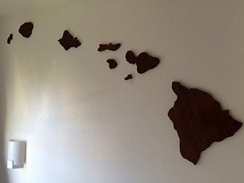 Wooden Hawaiian Island Chain Wall Art – Wall's Furniture & Decor For Hawaiian Islands Wall Art (View 2 of 20)