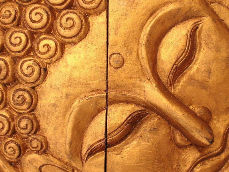 Wooden Reclining Buddha Face Wall Art Panel 50Cm X 40Cm 20X16 Thai Throughout Buddha Wooden Wall Art (Image 20 of 20)