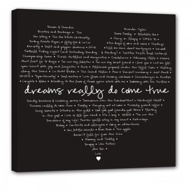 Word Art Custom Canvas Archives – Geezees Canvas Artgeezees Canvas Art With Custom Canvas Art With Words (View 10 of 20)