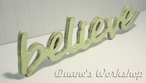 Featured Image of Wooden Word Wall Art