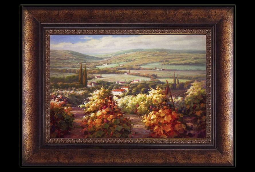 World Vineyard Wall Art In Vineyard Wall Art (View 9 of 20)