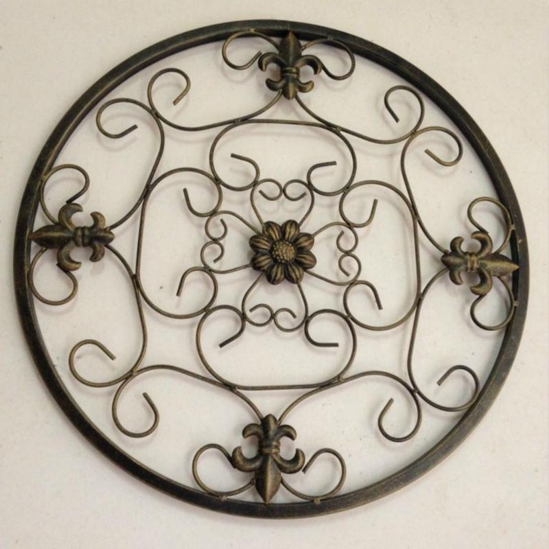 Wrought Iron Garden Wall Art Promotion Shop For Promotional For Wrought Iron Garden Wall Art (View 12 of 20)