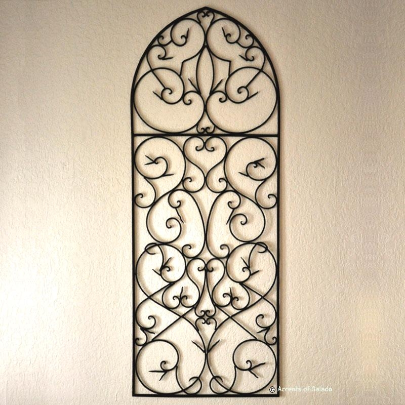 Wrought Iron Wall Decor Best – Wrought Iron Wall Decor Ideas For Regarding Faux Wrought Iron Wall Decors (Image 20 of 20)