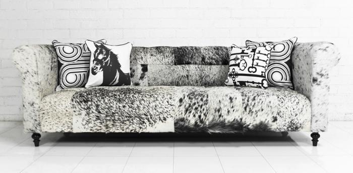 Featured Image of Cowhide Sofas