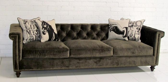 Featured Image of Brown Velvet Sofas