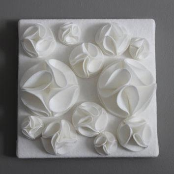 Yellow And White 3D Wall Art,yellow And From Ten 'til Joy | Ten Throughout White 3D Wall Art (Photo 10 of 20)