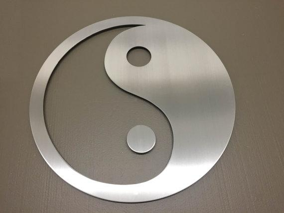 Yin Yang Metal Wall Art Wall Art Metal Wall Decor Metal Intended For Yin Yang Wall Art (View 4 of 20)