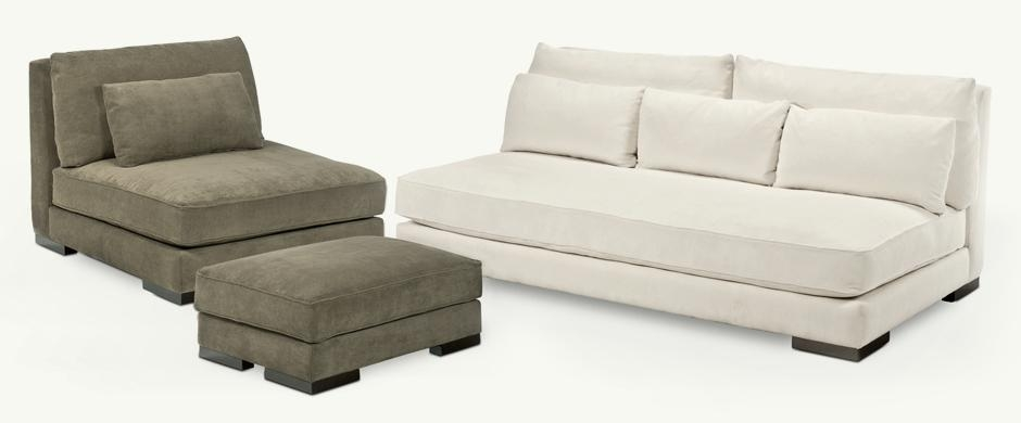Younger Furniture: Chill Collection Intended For Bench Style Sofas (Photo 15 of 20)