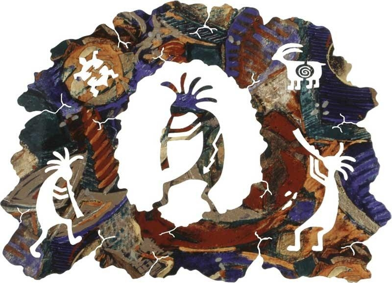 Your Search Display Within Kokopelli Metal Wall Art (Photo 9 of 20)