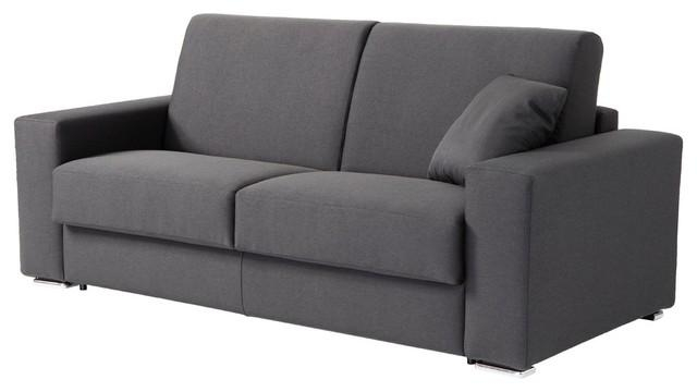 Zeph Italian Modern Sofa Bed With Full Size Mattress – Modern With Regard To Full Size Sofa Beds (Photo 1 of 20)
