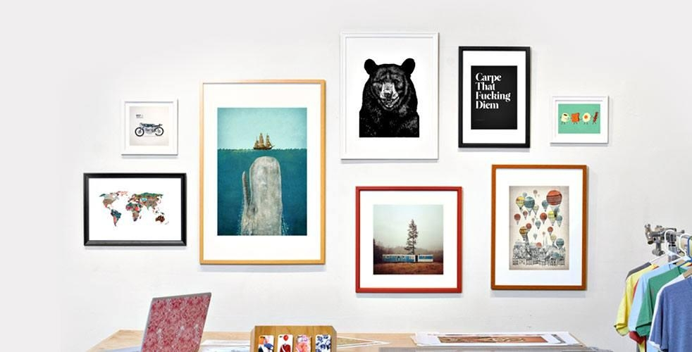 10 Art And Print Shops Every Guy Should Know | Cool Material Within Cool Wall Art For Guys (Image 1 of 20)