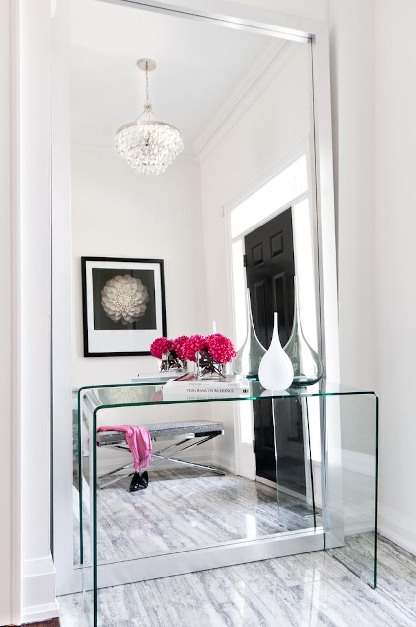 10 Surprisingly Awesome Hallway Mirror Ideas That You Will Like In Modern Hall Mirrors (Image 1 of 20)