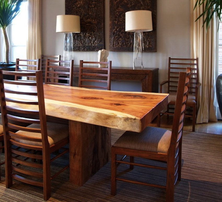 10 Wooden Dining Tables That Make You Want A Makeover Pertaining To Recent Wood Dining Tables (Image 1 of 20)