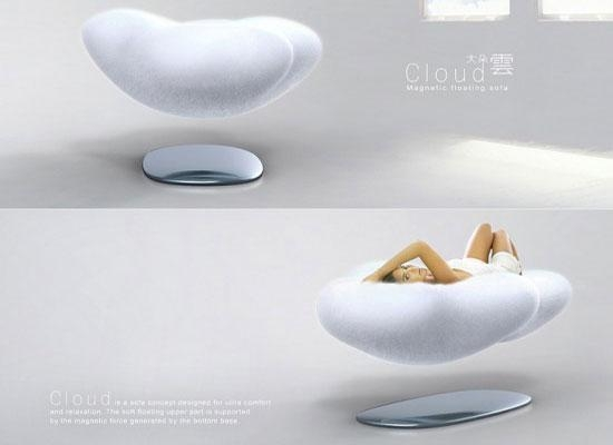 100 Amazing Futuristic Design Concepts We Wish Were Real Inside Magnetic Floating Sofas (Image 1 of 20)