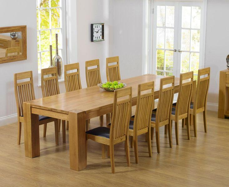 100 Best Oak Furniture Images On Pinterest | Home Decoration Regarding Most Popular Oak Dining Tables 8 Chairs (Image 1 of 20)