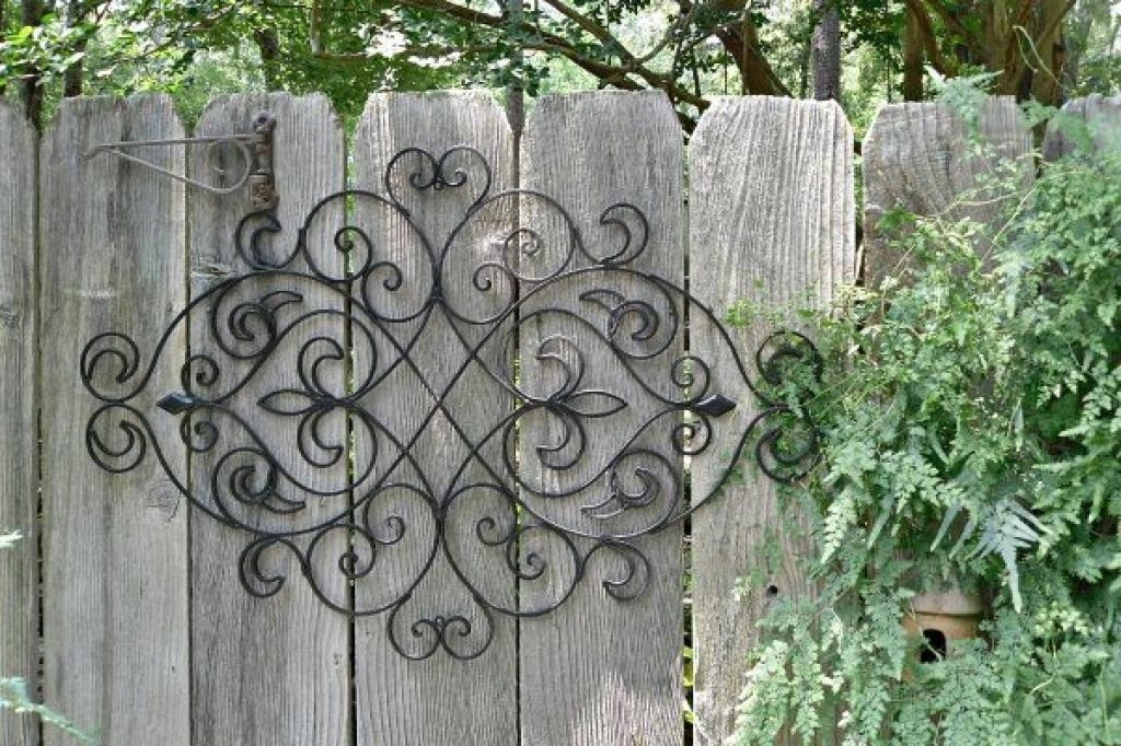 1000+ Images About Outdoor Wall Art On Pinterest | Outdoor Metal With Outdoor Wrought Iron Wall Art (Image 1 of 20)