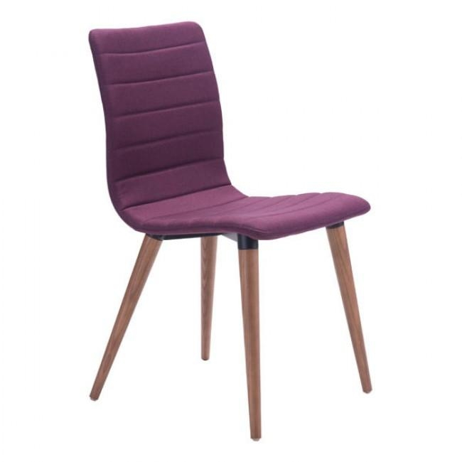 100275 – Jericho Dining Chair Purple For 2017 Dining Tables And Purple Chairs (Image 1 of 20)