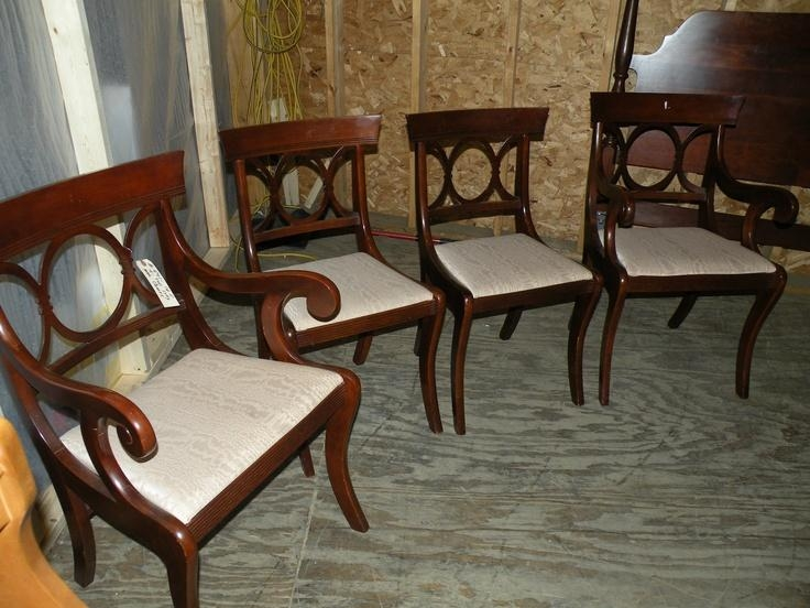 101 Best Tell City Images On Pinterest | City Furniture, Maple Throughout Recent Dining Chairs Ebay (View 11 of 20)